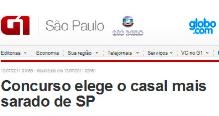 Globo.com - Gil Jung